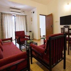 Отель OYO 12423 Home Pool View 1BHK Candolim Гоа комната для гостей фото 4