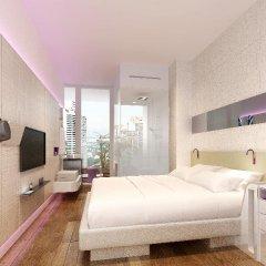 Отель YOTEL Singapore Orchard Road 4* Стандартный номер с различными типами кроватей фото 3