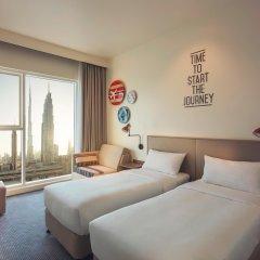 Отель Rove Downtown Dubai комната для гостей