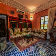 Отель Riad Dar Guennoun Марокко, Фес - отзывы, цены и фото номеров - забронировать отель Riad Dar Guennoun онлайн комната для гостей фото 2