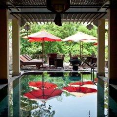 Thien Thanh Green View Boutique Hotel бассейн