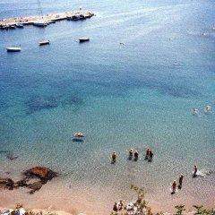 Отель Sofia Mythos Beach Aparthotel Греция, Милопотамос - 1 отзыв об отеле, цены и фото номеров - забронировать отель Sofia Mythos Beach Aparthotel онлайн пляж фото 2