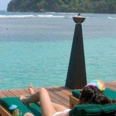 Отель Bonne Amie Villa Ямайка, Порт Антонио - отзывы, цены и фото номеров - забронировать отель Bonne Amie Villa онлайн пляж