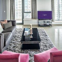 Апартаменты Dream Inn Dubai Apartments 29 Boulevard гостиничный бар