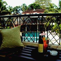 Отель Alegria - The Goan Village фитнесс-зал