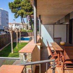 Отель Agi Torre Quimeta Испания, Курорт Росес - отзывы, цены и фото номеров - забронировать отель Agi Torre Quimeta онлайн балкон