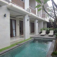 Отель Alia Home Sanur Индонезия, Бали - отзывы, цены и фото номеров - забронировать отель Alia Home Sanur онлайн бассейн фото 2