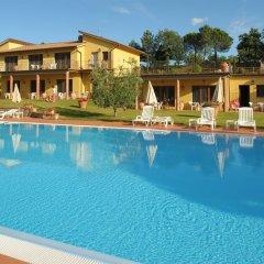 Отель Fattoria degli Usignoli Италия, Реггелло - отзывы, цены и фото номеров - забронировать отель Fattoria degli Usignoli онлайн бассейн фото 3