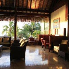 Отель Manava Beach Resort and Spa Moorea Французская Полинезия, Папеэте - отзывы, цены и фото номеров - забронировать отель Manava Beach Resort and Spa Moorea онлайн интерьер отеля