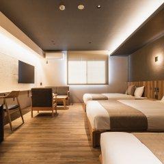 Отель GRAND BASE Beppu Ekihigashi Беппу комната для гостей