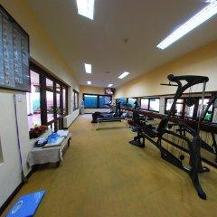 Отель Pandanus Resort фитнесс-зал