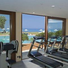 Отель Kernos Beach фитнесс-зал фото 3