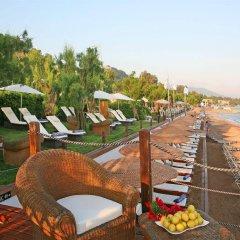Отель Amathus Elite Suites пляж