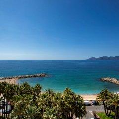 Отель Radisson Blu 1835 Hotel & Thalasso, Cannes Франция, Канны - 2 отзыва об отеле, цены и фото номеров - забронировать отель Radisson Blu 1835 Hotel & Thalasso, Cannes онлайн пляж