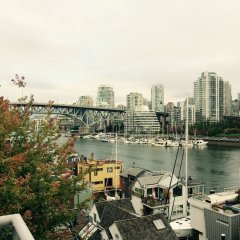 Отель Granville Island Hotel Канада, Ванкувер - отзывы, цены и фото номеров - забронировать отель Granville Island Hotel онлайн балкон