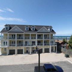 Отель Beachfront Beach Houses Канада, Васага-Бич - отзывы, цены и фото номеров - забронировать отель Beachfront Beach Houses онлайн пляж