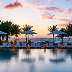 Nobu Hotel Miami Beach пляж фото 2