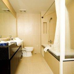 Отель Golden Pearl Hotel Таиланд, Бангкок - отзывы, цены и фото номеров - забронировать отель Golden Pearl Hotel онлайн ванная