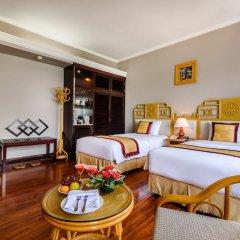 Отель Huong Giang Hotel Resort and Spa Вьетнам, Хюэ - 1 отзыв об отеле, цены и фото номеров - забронировать отель Huong Giang Hotel Resort and Spa онлайн комната для гостей фото 5