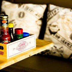 Sleepcafe Hostel Паттайя удобства в номере фото 2