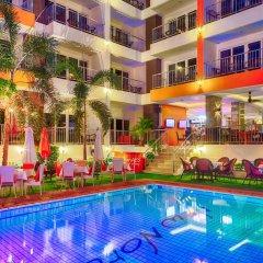 Отель New Nordic Marcus Таиланд, Паттайя - 12 отзывов об отеле, цены и фото номеров - забронировать отель New Nordic Marcus онлайн бассейн фото 3