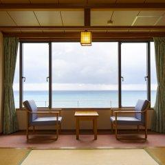Отель Kyukamura Nanki-katsuura Начикатсуура комната для гостей фото 4