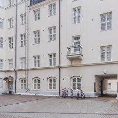 Отель Helsinki South Central Apt Kapteeni Финляндия, Хельсинки - отзывы, цены и фото номеров - забронировать отель Helsinki South Central Apt Kapteeni онлайн вид на фасад