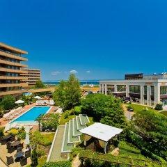 Отель Grand Hotel Pomorie Болгария, Поморие - 2 отзыва об отеле, цены и фото номеров - забронировать отель Grand Hotel Pomorie онлайн балкон