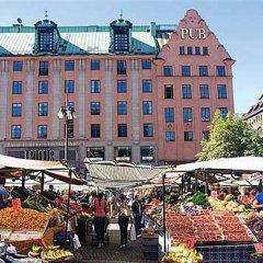 Hotel Scandic Kungsgatan Стокгольм городской автобус