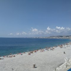 Отель Happy Few - Les Ponchettes Франция, Ницца - отзывы, цены и фото номеров - забронировать отель Happy Few - Les Ponchettes онлайн пляж