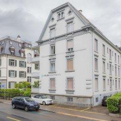 Отель VISIONAPARTMENTS Zurich Waffenplatzstrasse парковка