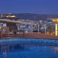 Отель Candia Hotel Греция, Афины - 3 отзыва об отеле, цены и фото номеров - забронировать отель Candia Hotel онлайн бассейн