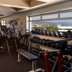 Отель SIXTY Beverly Hills фитнесс-зал фото 2