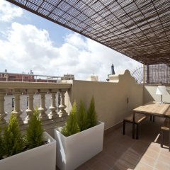 Апартаменты Serennia Apartments Ramblas-Pl.Catalunya балкон