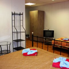 Гостиница Красный Коврик на Рузовской комната для гостей фото 2