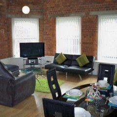 Апартаменты City Stop Manchester Apartments комната для гостей фото 3