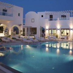 Отель La Mer Deluxe Hotel & Spa - Adults only Греция, Остров Санторини - отзывы, цены и фото номеров - забронировать отель La Mer Deluxe Hotel & Spa - Adults only онлайн бассейн