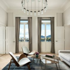 Отель The Ritz-Carlton, Hotel de la Paix, Geneva Швейцария, Женева - отзывы, цены и фото номеров - забронировать отель The Ritz-Carlton, Hotel de la Paix, Geneva онлайн комната для гостей фото 3
