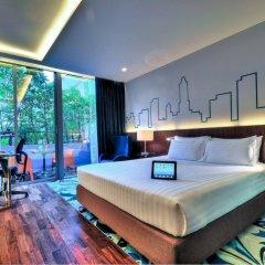 Отель Galleria 10 Sukhumvit Bangkok by Compass Hospitality комната для гостей фото 5