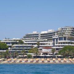 Crystal Sunrise Queen Luxury Resort & Spa Турция, Сиде - 1 отзыв об отеле, цены и фото номеров - забронировать отель Crystal Sunrise Queen Luxury Resort & Spa - All Inclusive онлайн пляж фото 2