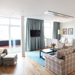 Апартаменты Biz Apartment Gardet Стокгольм комната для гостей фото 3