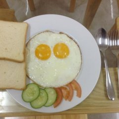 Sleep In Dalat Hostel Далат питание