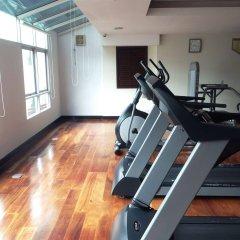Отель August Suites Pattaya Паттайя фитнесс-зал