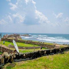Отель Rampart View Guest House Шри-Ланка, Галле - отзывы, цены и фото номеров - забронировать отель Rampart View Guest House онлайн пляж