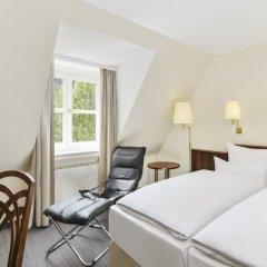 Отель NH Klösterle Nördlingen Германия, Нёрдлинген - 1 отзыв об отеле, цены и фото номеров - забронировать отель NH Klösterle Nördlingen онлайн комната для гостей фото 5
