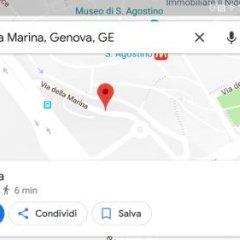 Отель Affittacamere La Citta Vecchia Генуя городской автобус