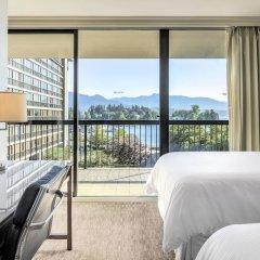 Отель The Westin Bayshore Vancouver Канада, Ванкувер - отзывы, цены и фото номеров - забронировать отель The Westin Bayshore Vancouver онлайн балкон