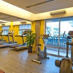 Отель Citadines Biyun Shanghai Китай, Шанхай - отзывы, цены и фото номеров - забронировать отель Citadines Biyun Shanghai онлайн фитнесс-зал