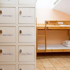 Хостел Lodge32 сейф в номере