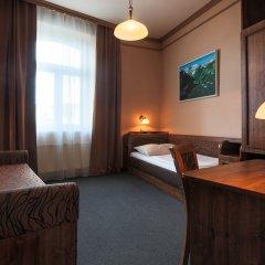 Hotel Victoria Пльзень комната для гостей